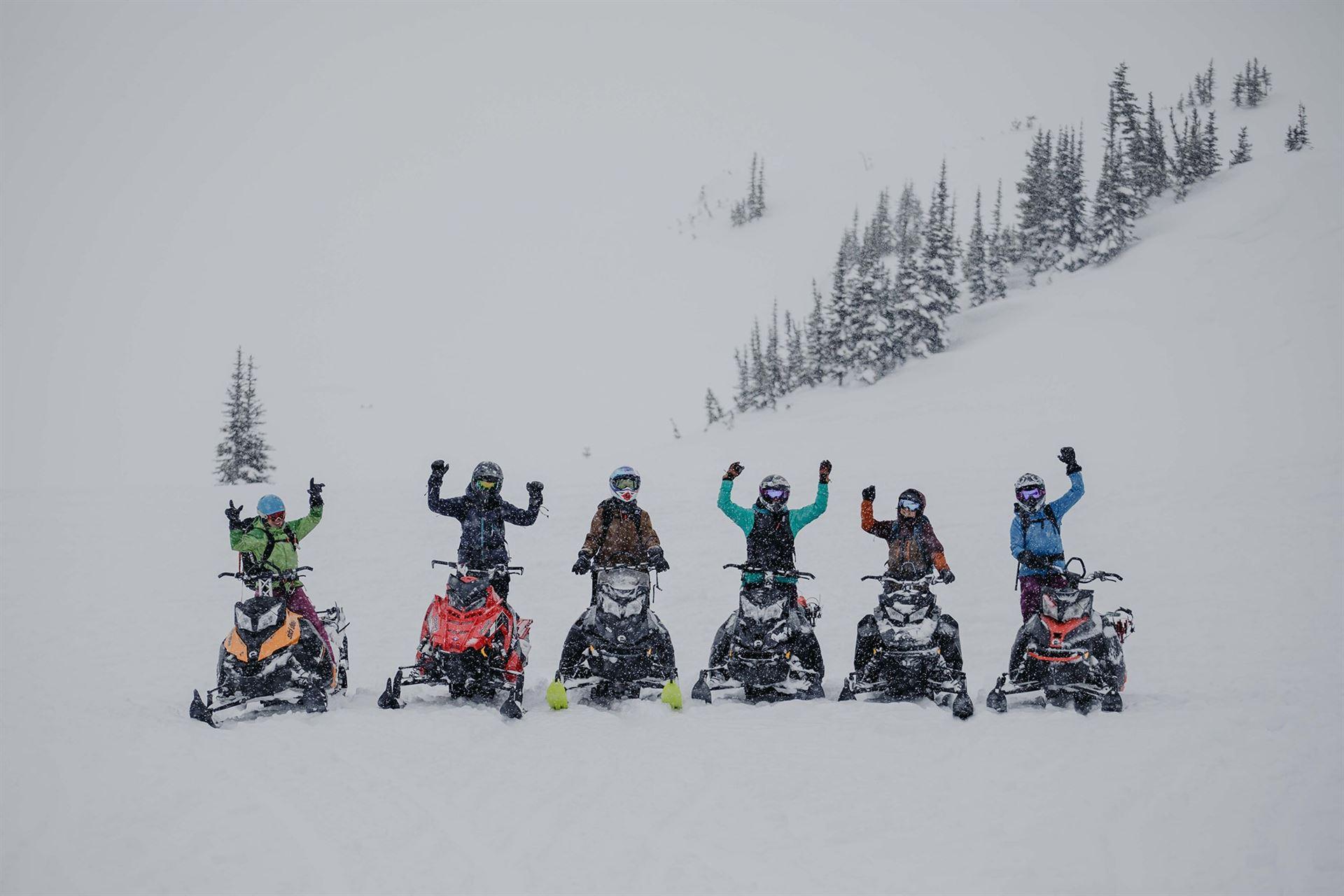 women's sled camp