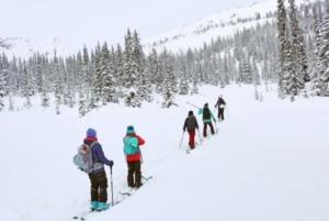 ski touring camp