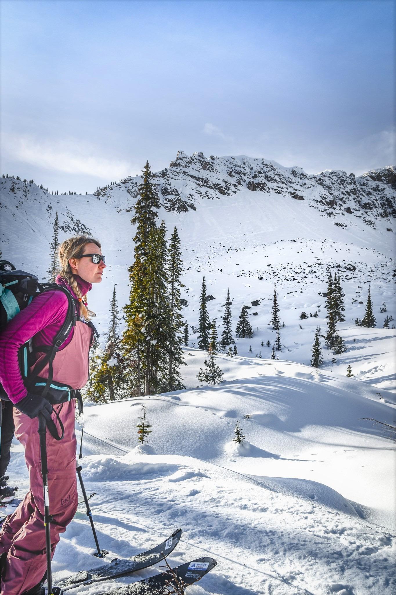 learn to ski tour