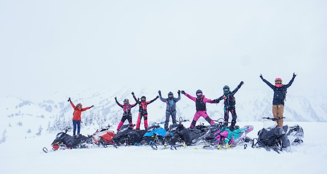 ladies sled camp