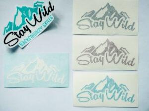 stay wild stickers